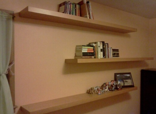 Book Shelves for a home office, Handyman Little Rock Arkansas